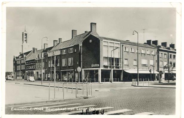 Emmeloord - Beursstraat en Lange Nering