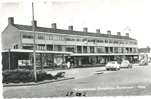 Emmeloord - Europalaan Winkelcentrum