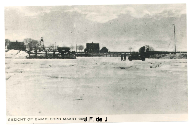 Emmeloord - Gezicht op Emmeloord maart 1929 (Schokland)