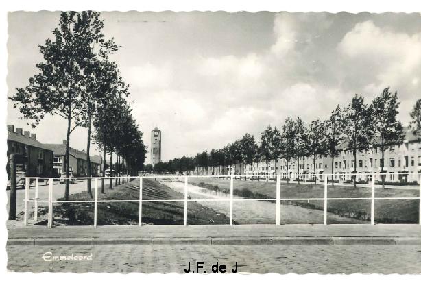Emmeloord - Lange Dreef en Poldertoren