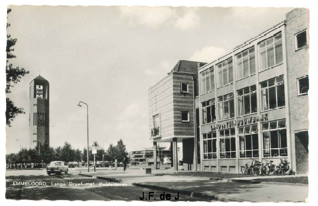 Emmeloord - Lange Dreef en Poldertoren2
