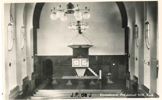 Emmeloord - NH Kerk Preekstoel