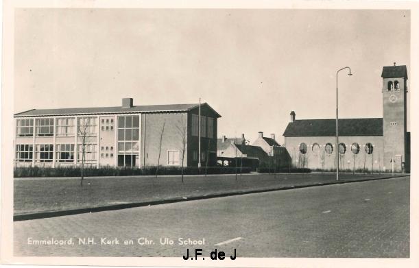 Emmeloord - NH Kerk en Chr ULO school