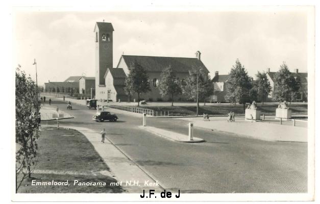 Emmeloord - Panorama met NH Kerk