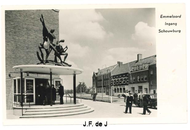 Emmeloord - Schouwburg Ingang2