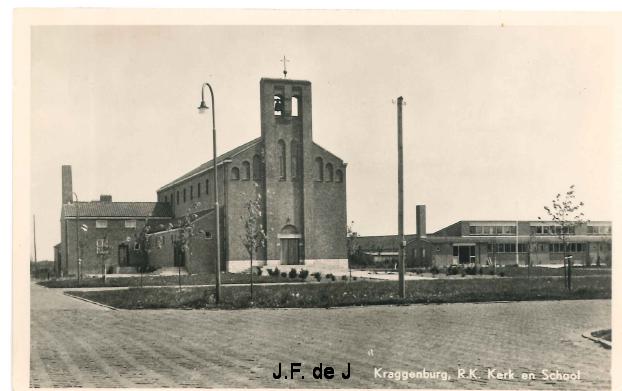 Kraggenburg - RK Kerk en School