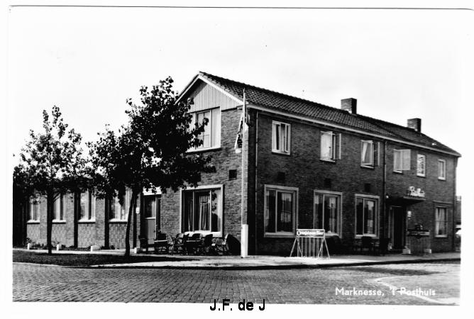 Marknesse - Breestraat - 't Posthuis