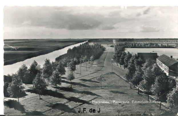 Marknesse - Emmeloordse Weg - Panorama