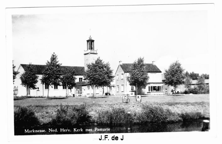 Marknesse - NH Kerk  - Pastorie2