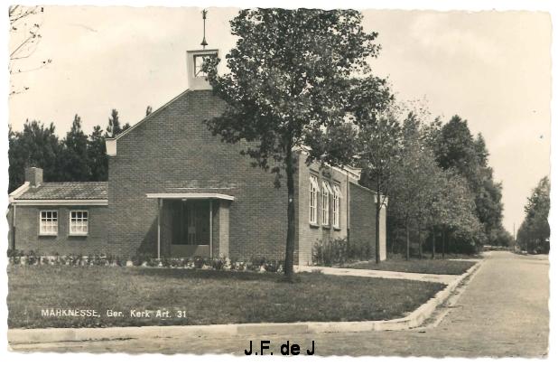 Marknesse - Oude Weg - Ger Kerk Art 31