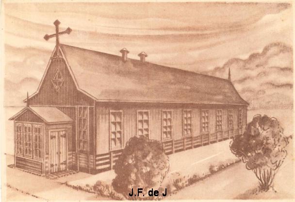 Marknesse - RK Kerk - Tekening