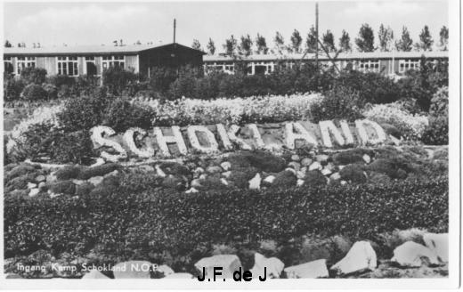 Kamp Schokland Ingang