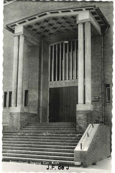 Emmeloord - Ger Kerk Ingang