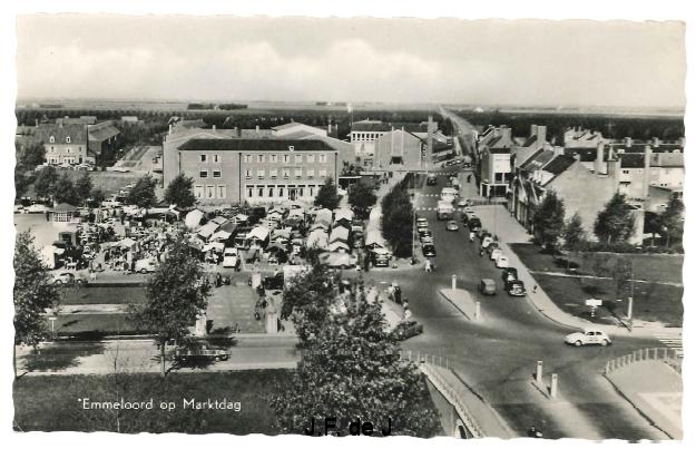 Emmeloord - Markt op de Deel3