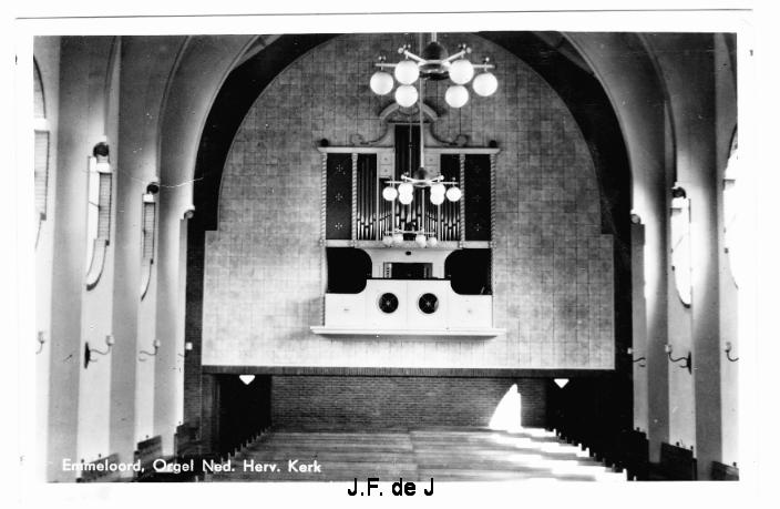 Emmeloord - NH Kerk Orgel