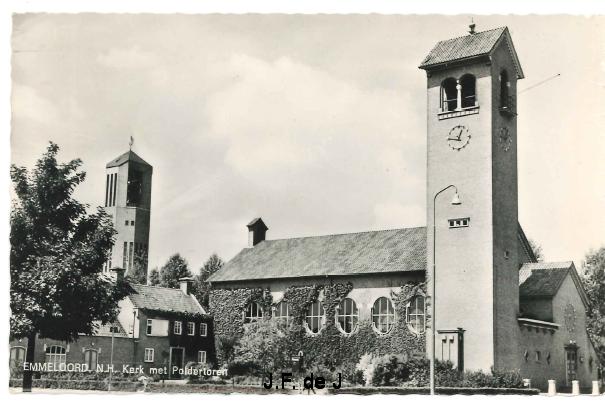 Emmeloord - NH Kerk en Poldertoren