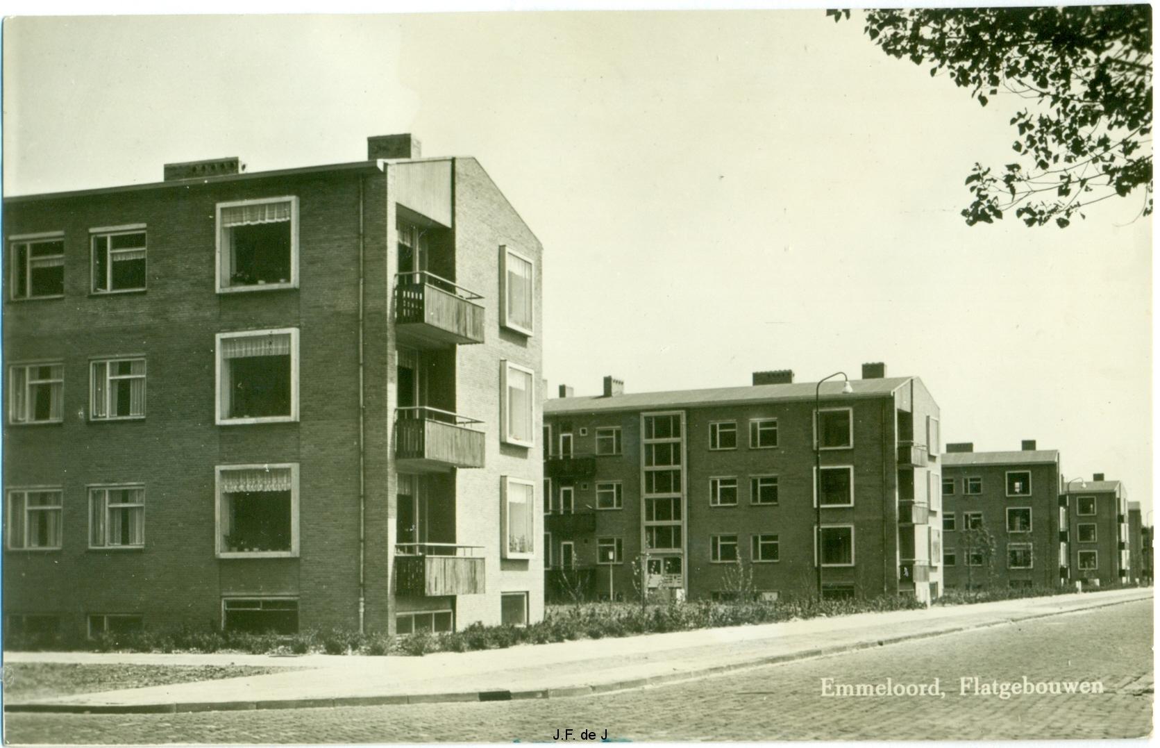 Flatgebouwen Emmeloord