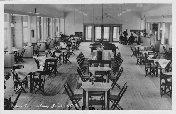 Espel - Kamp Espel - Cantine - Interieur