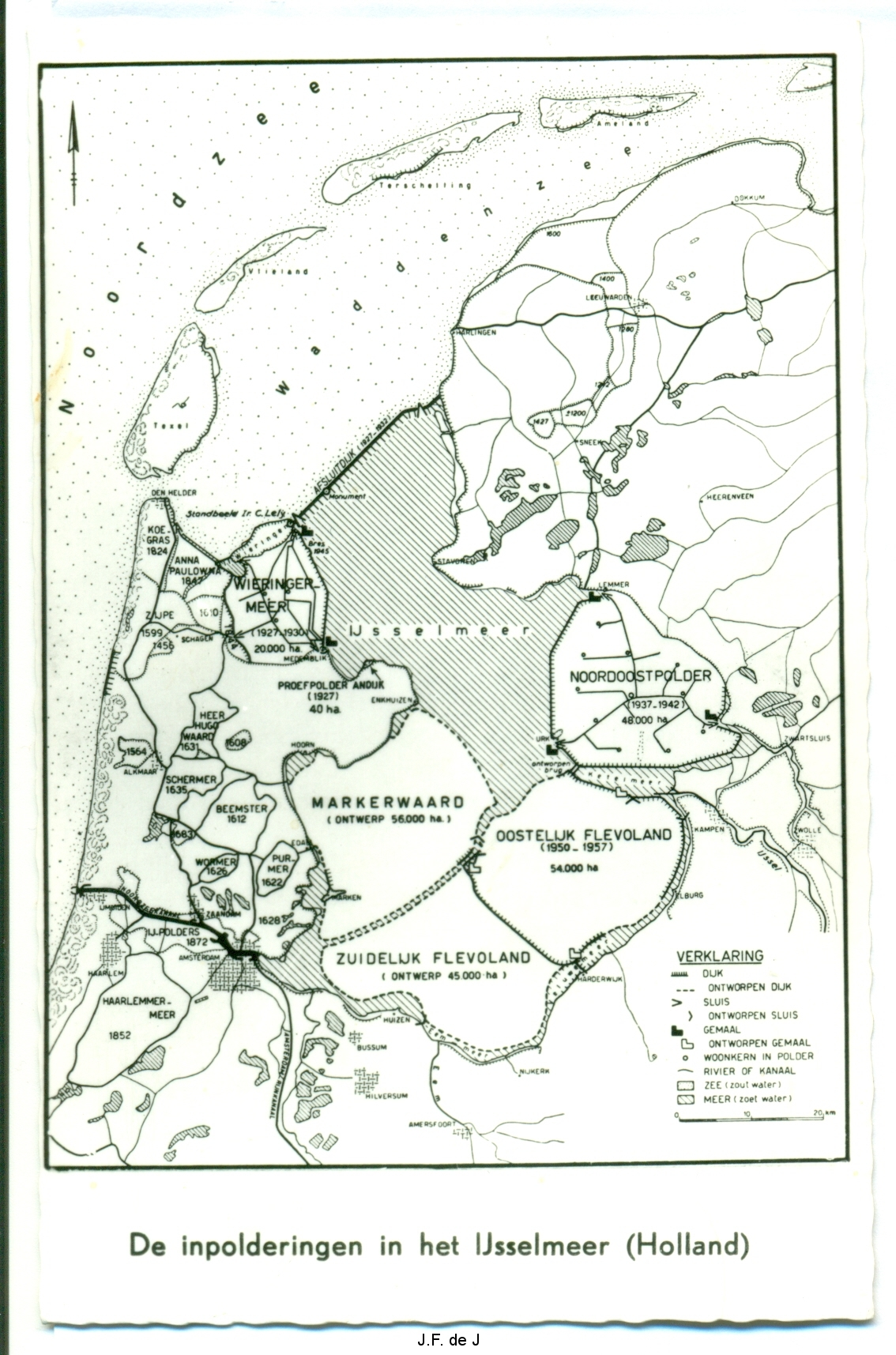 Kaart Polders