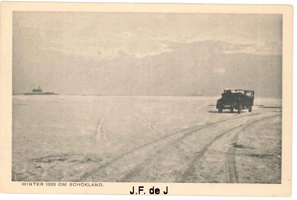Schokland - Winter om Schokland 1929