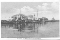 Schokland - Gezicht op Emmeloord (Schokland)